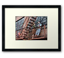 Agent Tanya Wheelock and Captain Mulligan (Photography by Misty Autumn Imagery) Framed Print