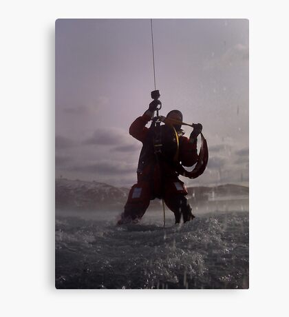 Rescue Me Canvas Print