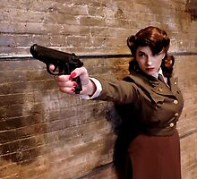 Tanya Wheelock as Peggy Carter (5.2 - Photography by Misty Autumn Imagery) by mostdecentthing
