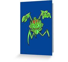ScatterBrain Green Greeting Card