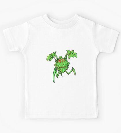 ScatterBrain Green Kids Tee