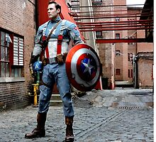 Michael Mulligan as Captain America (4.1 - Photography by Misty Autumn Imagery) by mostdecentthing