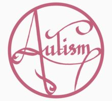 Autism is simply beautiful - Pink Kids Clothes