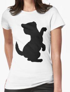 Adorable Kitten Cat Silhouette, Cute Cats T-Shirt