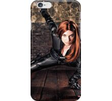 Secret Agent Tanya Wheelock (Photography by Sean William / Dragon Ink Photography) iPhone Case/Skin