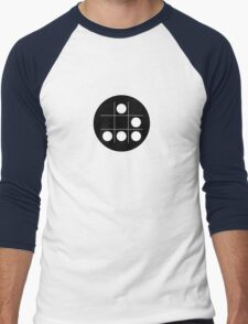Hacker emblem Men's Baseball ¾ T-Shirt