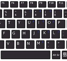 PC Computer Keyboard Buttons Design by tshirtdesign