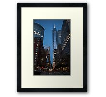 World Financial Center: One World Trade Center Framed Print
