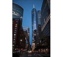 World Financial Center: One World Trade Center Photographic Print