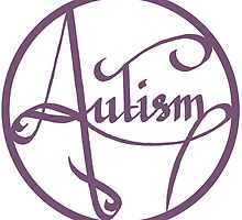 Autism is simply beautiful - Purple by autistictic