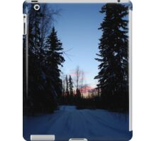 Over the river and through the woods iPad Case/Skin