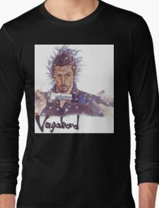 Miyamoto Musashi - Vagabond - Raw Long Sleeve T-Shirt