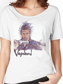 Miyamoto Musashi - Vagabond - Raw Women's Relaxed Fit T-Shirt