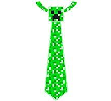 Minecraft Creeper Tie by GeekyAngel