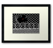To have faith is to have wings. Framed Print