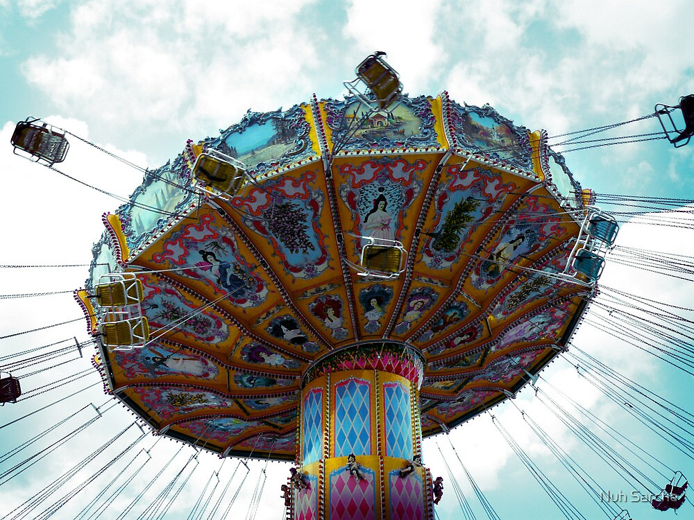 Vintage chairoplane... by Nuh Sarche