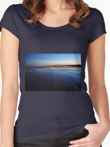 Patterns in the sand Women's Fitted Scoop T-Shirt
