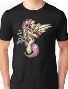 [My Little Pony] Fluttershy - You Make My Heart Flutter [Words] Unisex T-Shirt