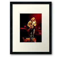 Singer/Songwriter Jamey Johnson Framed Print