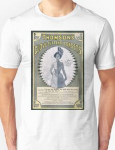 Victorian Corset Ad from 1900 T-Shirt