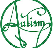 Autism is simply beautiful - Green by autistictic