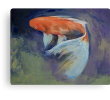 Koi Fish Painting Canvas Print
