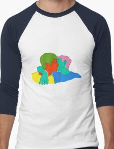 Tomorrows Love Men's Baseball ¾ T-Shirt