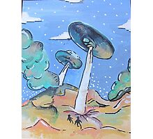 Double UFO's Photographic Print