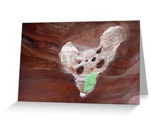 ghost sacrum Greeting Card