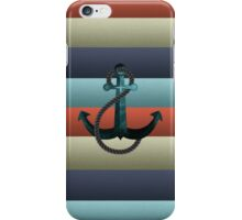 Nautical Anchor Background iPhone Case/Skin