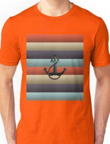 Nautical Anchor Background Unisex T-Shirt