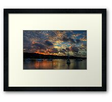 Paintbrush - Newport, Sydney - The HDR Experience Framed Print