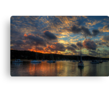 Paintbrush - Newport, Sydney - The HDR Experience Canvas Print