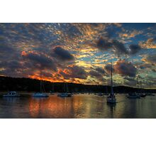Paintbrush - Newport, Sydney - The HDR Experience Photographic Print