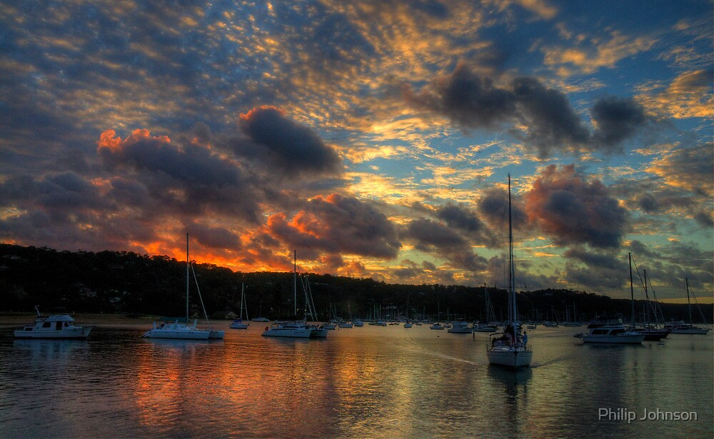 Going Home - Newport, Sydney - The HDR Experience by Philip Johnson