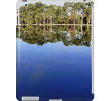 Lake view - sky mirror iPad Case/Skin