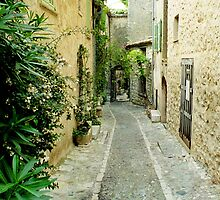 Deserted Street - Mougins, France by iseezu