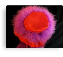 Red Hat Lady Canvas Print