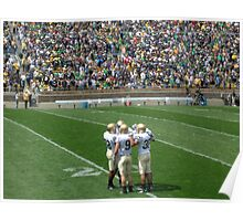 The Huddle-Notre Dame Football Poster