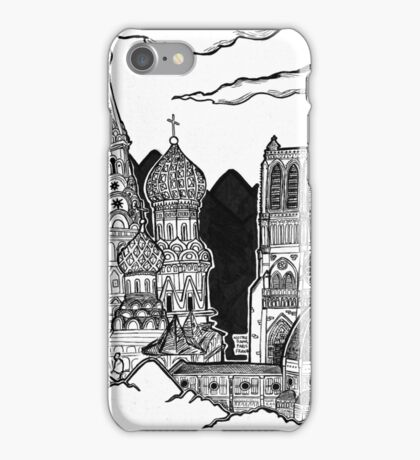 Cathedrals as Landscape iPhone Case/Skin