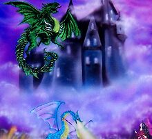 Dragon Print by Sherry Arthur
