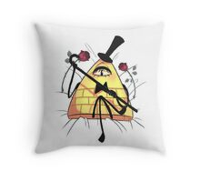 Not That Gentle... Throw Pillow