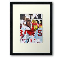 Who Watches The Watchmen? Framed Print