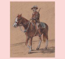 Light Horseman Sketch One Piece - Long Sleeve