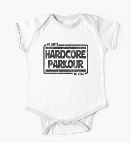 Hardcore Parkour - No Limits, No Fear One Piece - Short Sleeve
