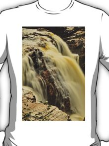 Waterfall - Fort Colunge, Quebec T-Shirt