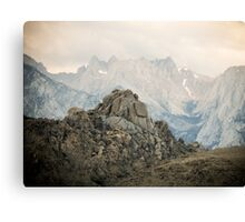 Rock Pile Mountain Canvas Print