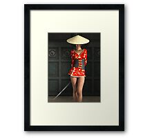 The Gate Keeper Framed Print