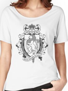Lion Coat Of Arms Heraldry Women's Relaxed Fit T-Shirt