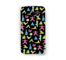 Rainbow Yoga Pattern Samsung Galaxy Case/Skin